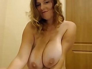 Big Tits Boobs Mature MILF Natural Nude Webcam