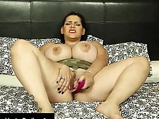 Angel Ass Big Tits Brunette Dildo BBW Fatty Gang Bang