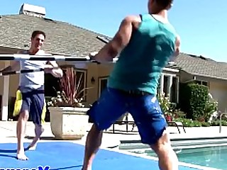 Anal Ass Cumshot Fuck Hot Jerking Outdoor Pool