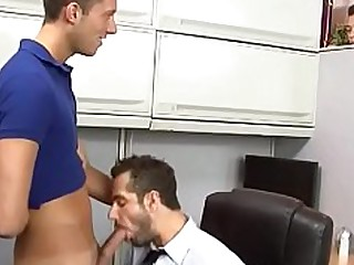 Cum Cumshot Rimming Threesome