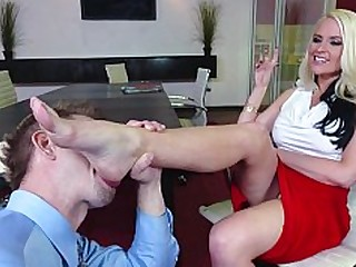Blonde Blowjob Feet Fetish Foot Fetish Footjob Hardcore Juicy