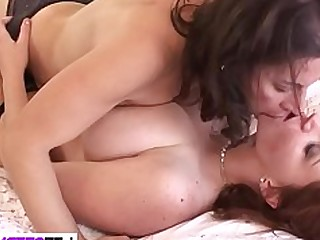 Cute Daughter Fingering Lesbian Mammy MILF Old and Young Oral