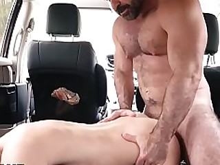 Blowjob Car Daddy BBW Fuck Hairy Hardcore Teen