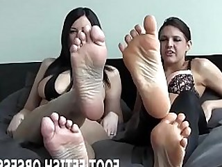 Cumshot Feet Fetish Foot Fetish Footjob High Heels Jerking Lesbian