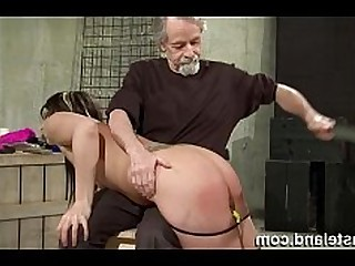 BDSM Brunette Crazy Domination Hot Punished Slave Spanking
