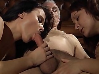 Blowjob Big Cock Cumshot Daddy Daughter Double Penetration Fuck Granny