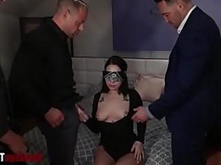 BDSM Boss Mature Oral Punished Rough Slave Spanking